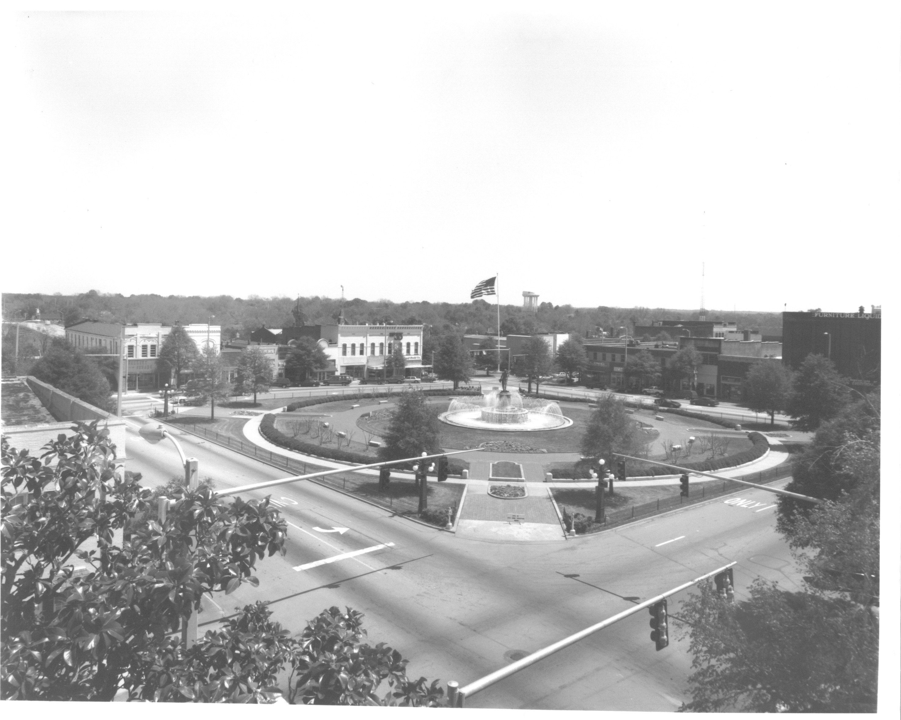 LaGrange, GA - Troup County Courthouse circa 1930s: Provided by Troup County Historical Society Archives & Legacy Museum