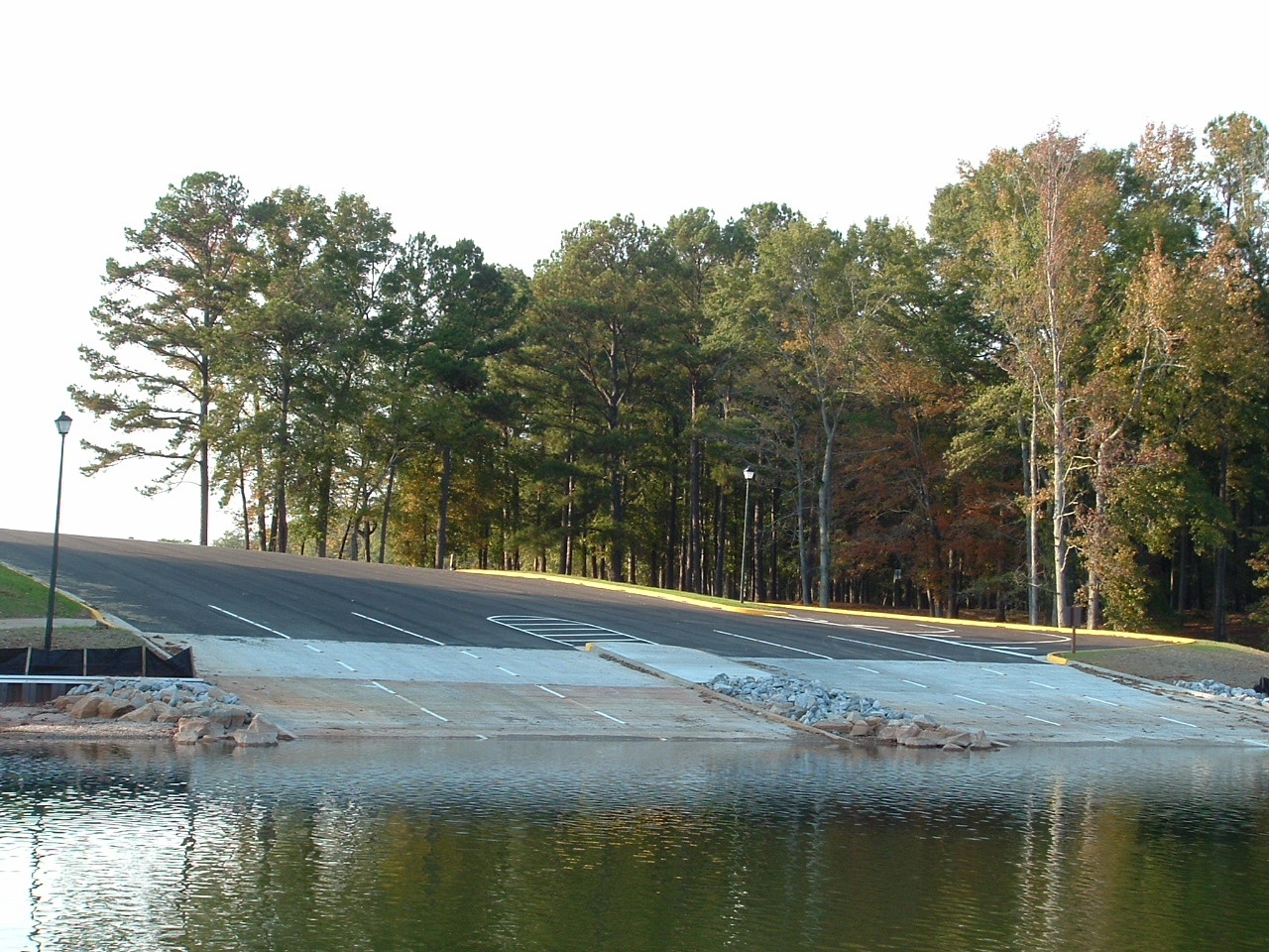 pyne road park mega ramp construction project complete